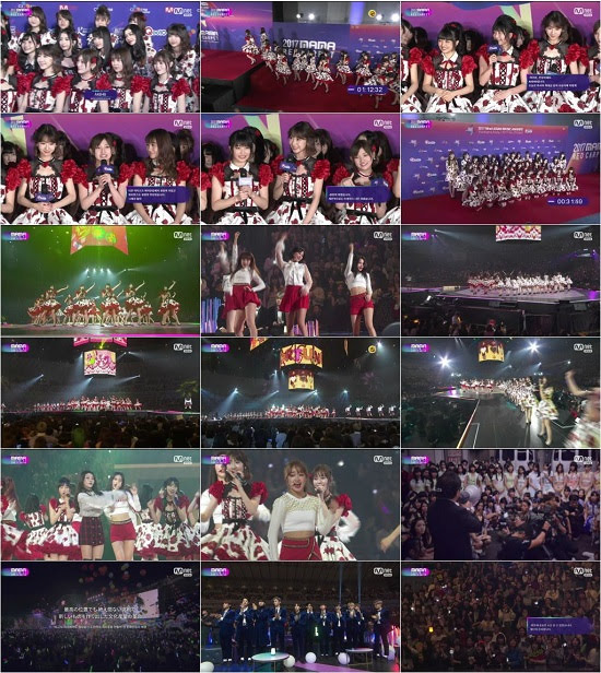 (TV-Music)(1080i) AKB48 Part – 2017 Mnet Asian Music Awards in Japan 171129