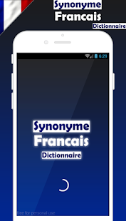 Frensh  Synonym Dictionary - náhled