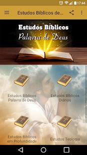 Estudos Bíblicos da Palavra de Deus 1