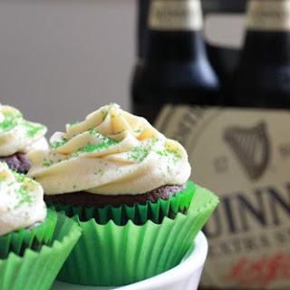 Irish Car Bomb Cupcakes.