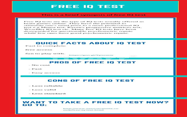 fast free iq test with instant results