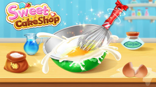 🍰💛Sweet Cake Shop - Cooking & Bakery apklade screenshots 2
