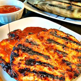 Mango Barbecue Pork Chops