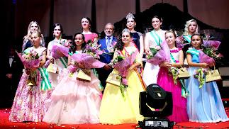 Durante un año, Laura Navarro Sánchez y Ana Belén Alonso Fernández, Reinas Infantil y Juvenil, respectivamente, ostentarán ese honor en Vera.