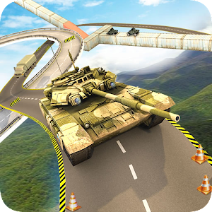 Impossible Tracks Army Tank: Extreme Stunt Race