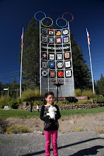 Photo: The Tower of Nations at Squaw Valley. I've always wanted to see an Olympic Torch