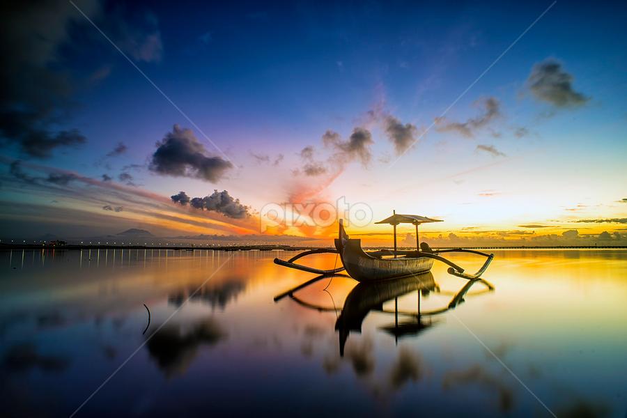 .:: happy dawn ::. by Setyawan B. Prasodjo - Transportation Boats