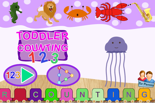 Toddler Counting -Connect Dots
