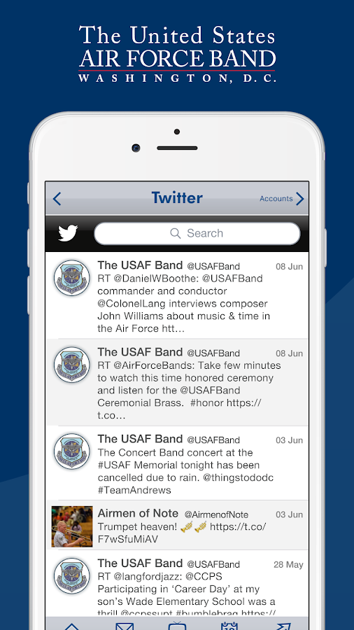 United States Air Force Band- screenshot