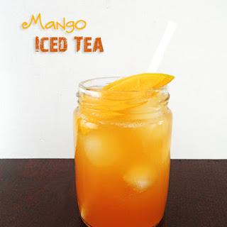 Mango Iced Tea.