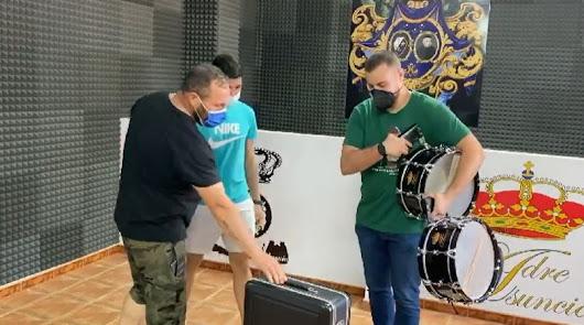 """El Carmen pide donativos para """"salir del bache"""" tras el robo de instrumentos"""