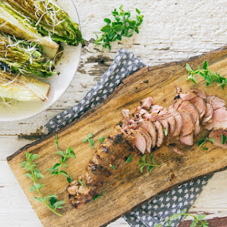Garlicky Grilled Pork Tenderloin