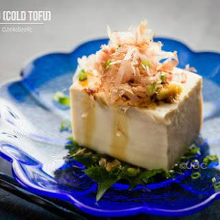 Hiyayakko (Cold Tofu)