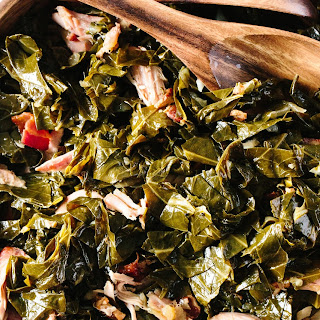 How To Cook Collard Greens in the Slow Cooker.