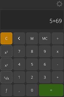 Calculator Plus Calculatius - náhled