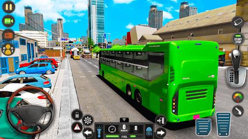 Modern Bus Simulator Drive 3D: New Bus Games Free apktram screenshots 16