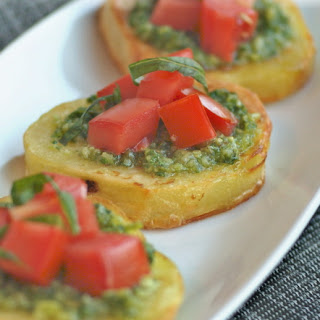 Potato Bruschetta