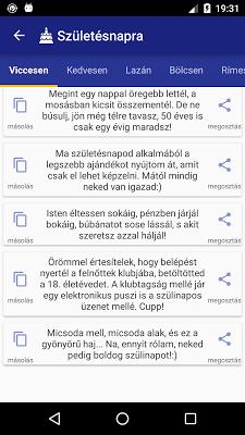 Üzenetek - screenshot