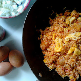 fried rice / nasi goreng by Addo Priambodo - Instagram & Mobile Android ( android )