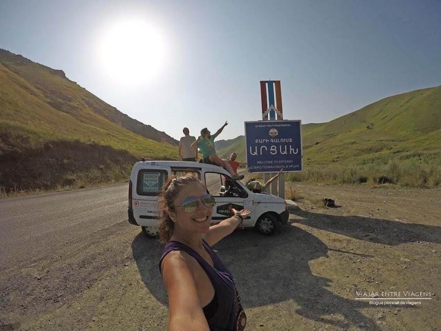 Dia 14 - Os astros conjugaram-se num país que não existe - NAGORNO KARABAKH | Crónicas do Rally Mongol