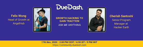 DueDash AMA: Growth hacking to gain traction