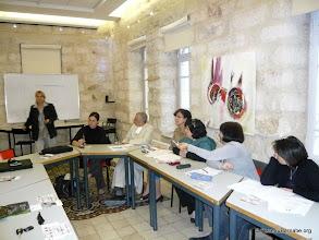 Photo: Au Centre culturel français Chataubriand à Jérusalem Est