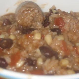 Sausage Rice Casserole.