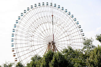 Photo: Day 152 - Big Wheel in Mellat Park