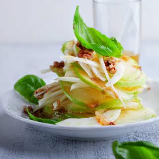 Apple Walnut Fennel Salad.