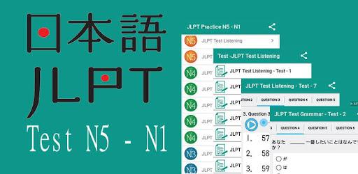 JLPT Practice N5 - N1 - Apps on Google Play
