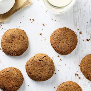 Gluten Free Blackstrap Molasses Cookies.