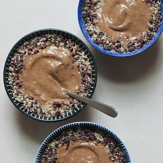 Whipped Chocolate Chia Pudding.