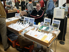 Photo: 007 Spotlight on the Traders. I try to include at least one of the specialist traders that support our part of the hobby so well at these smaller events. This time it is the turn of John Flower who travelled from Sheffield with his A1 Models range of etched and 3D printed locomotive body kits .