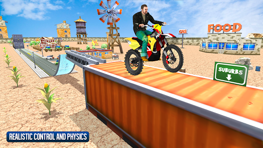 Moto Bike Stunt Racing Game 2019 1.0.3 screenshots 1