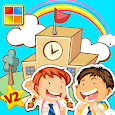 School Cards (Learn Languages) icon