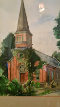 Photo: portrait of the First Presbyterian Church