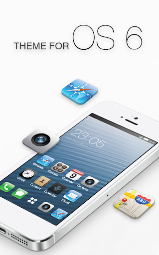 Free Theme for iphone 6S ios launcher 1.0.4 screenshots 1