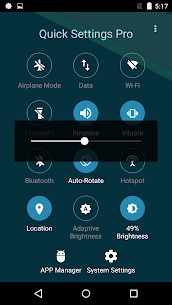 Super Quick Settings Pro – Toggles & AD Free v5.7 [Paid] 3