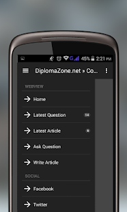 DiplomaZone.net- screenshot thumbnail