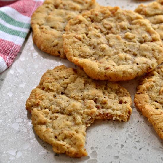 These Delectable Coconut Oatmeal Cookies Are Crispy On The Outside And Soft And Chewy On The Inside. For Soft And Chewy Cookies Bake For 10 Minutes For Extra Crispy Dunk-able Cookies Bake For 14 Minutes.