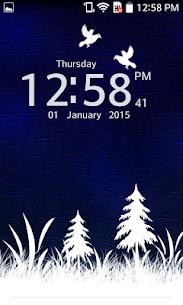 Photo Clock Live Wallpaper 3