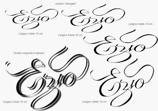 Photo: recherches pour un tatouage de prénom (avant-bras)