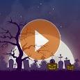 Animated Halloween weather backgrounds add-on icon
