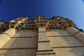 Photo: Jodhpur - les remparts