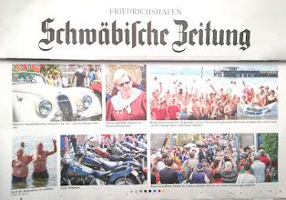 Photo: Schwabische Zeitung 30 aprile 2018