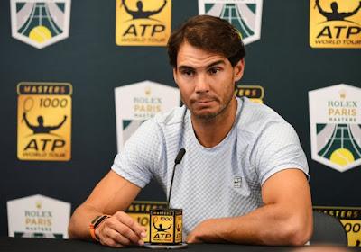 Fin de saison pour Rafael Nadal!