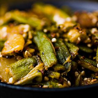 Stir-fried Bhindi (okra) & Potato