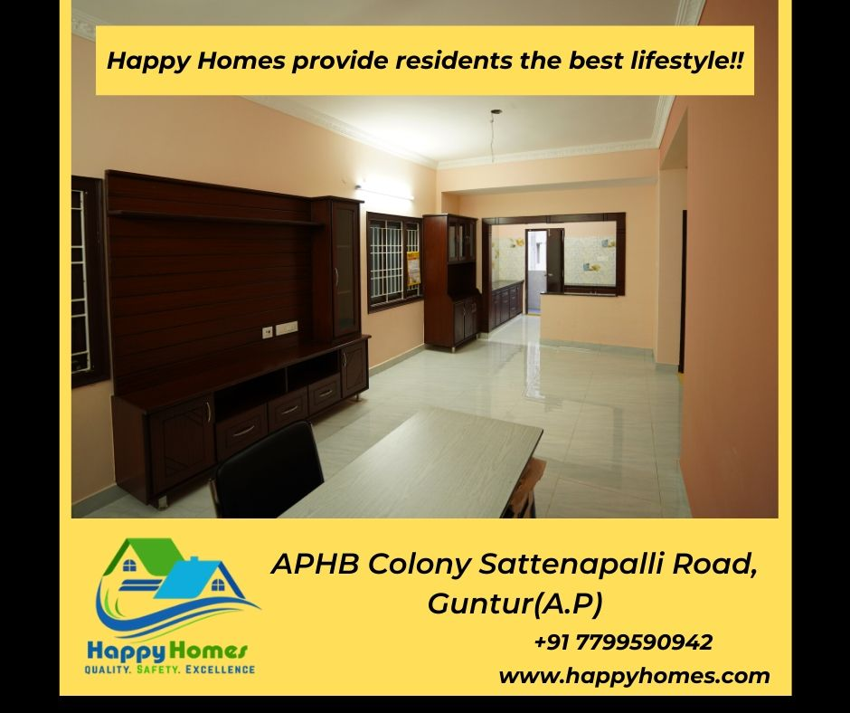 Semi Furnished Apartment In Guntur