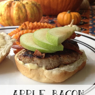 Apple Bacon Turkey Burgers