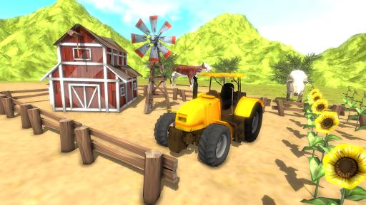 Real Farming Simulator 2019 –Tractor Trolley Sim 1.4 screenshots 1